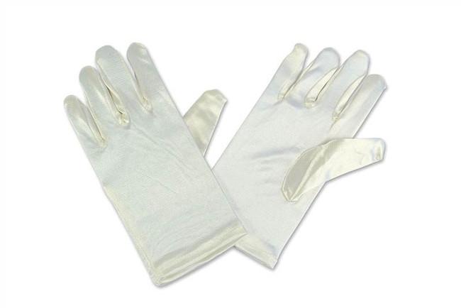 Childs Gloves. Ivory