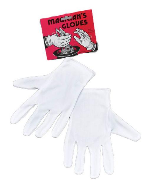 Magicians Gloves White.