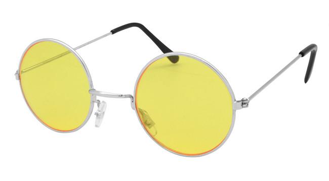 Lennon Glasses. Yellow