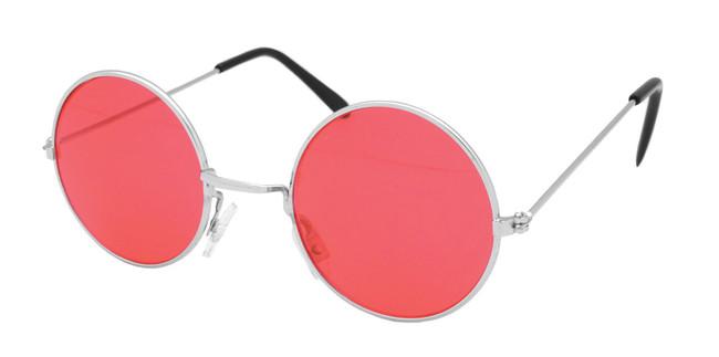 Lennon Glasses. Red