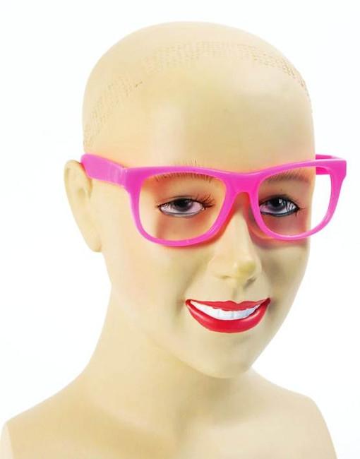 Pink Nerd Glasses.