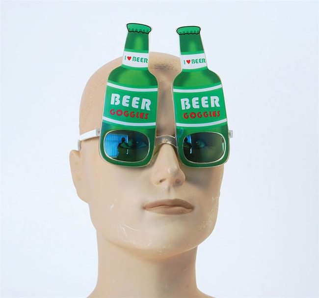 Beer Bottle Glasses.