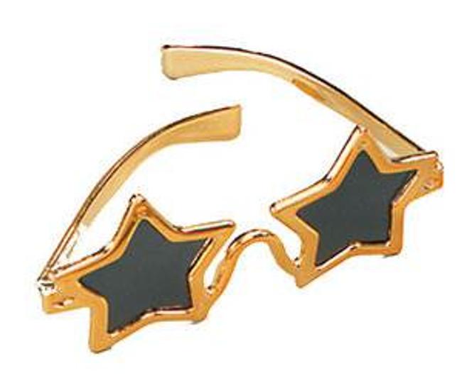 Star Glasses Gold.