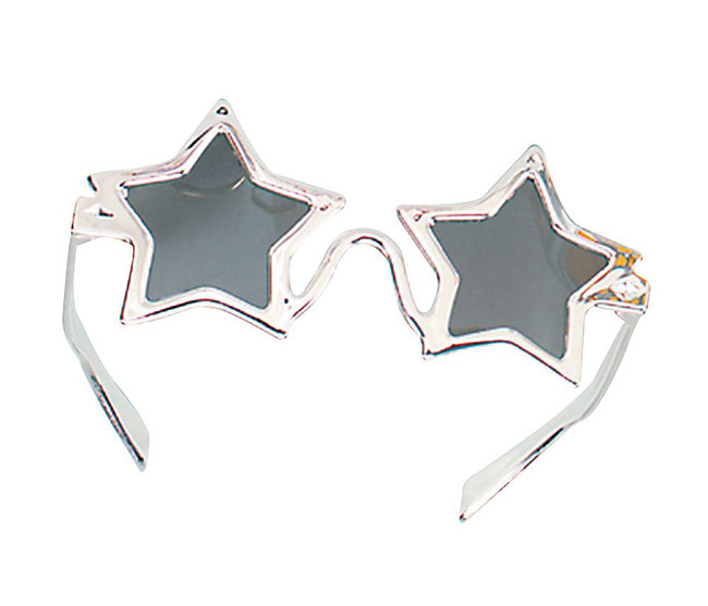 Star Glasses Silver.