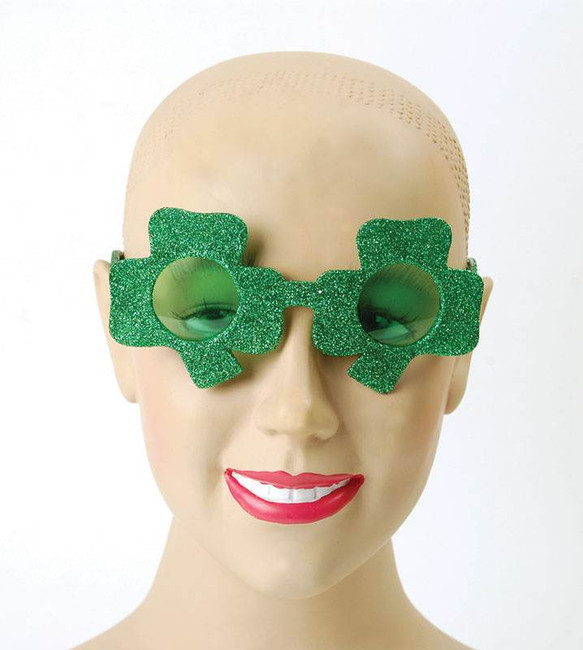 Irish Glasses (Shamrock).