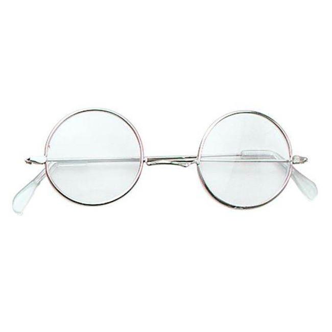 John Lennon Specs. Clear .