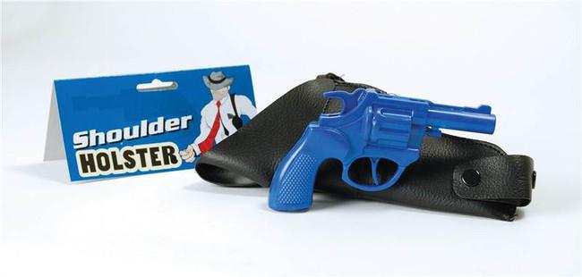 Gangster Shoulder Holster & Gun.