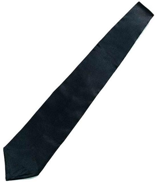 Gangster Tie. Black.
