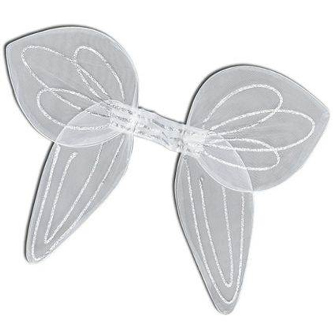 Angel Wings.Large White Net  Ad.