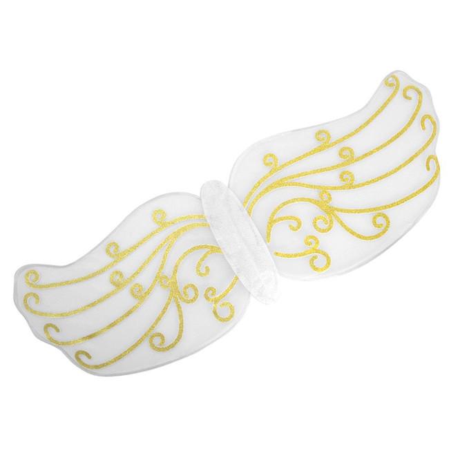 Angel Wings. Gold Pattern, Fancy Dress