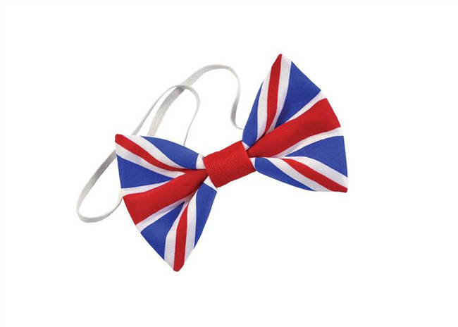 Union Jack Bow Tie.