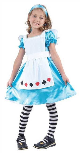 ALICE CHILDS FANCY DRESS COSTUME