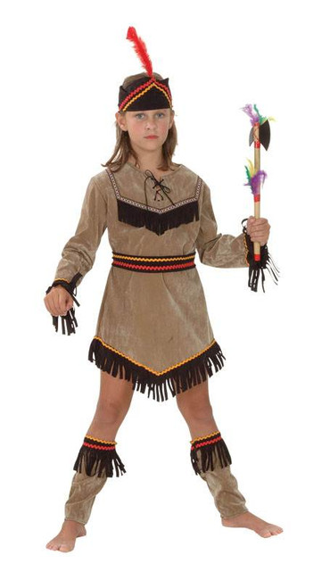 INDIAN GIRL, CHILDS FANCY DRESS COSTUME