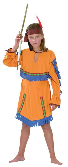 Indian Girl Budget, Childrens Fancy Dress Costume, Girls