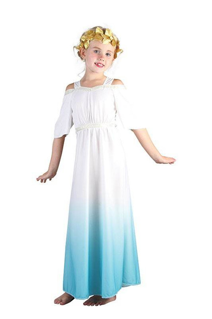ROMAN GODDESS CHILDS FANCY DRESS COSTUME
