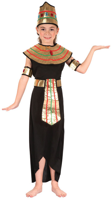 Queen of the Nile, Childrens Fancy Dress Costume, Girls