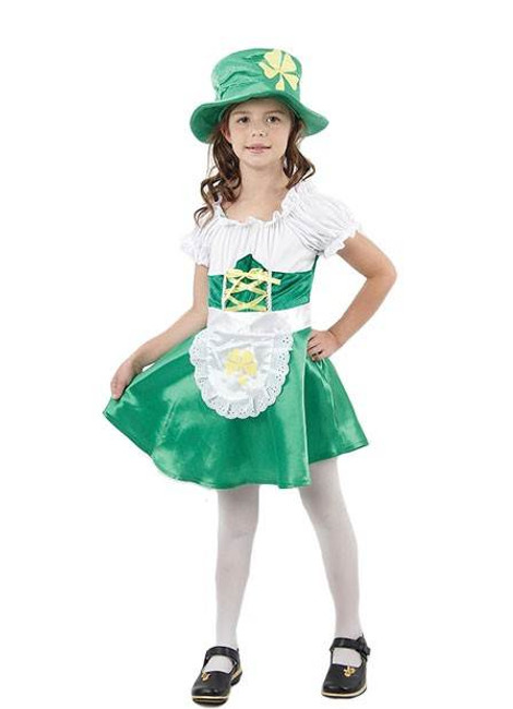 LEPRECHAUN GIRL LARGE IRELAND/IRISH/IMP FANCY DRESS