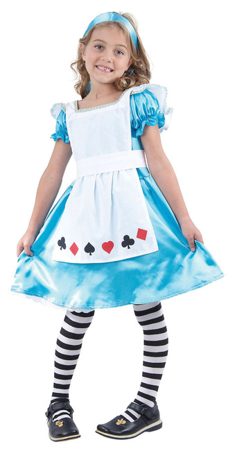 Alice, XL, Childrens Fancy Dress Costume