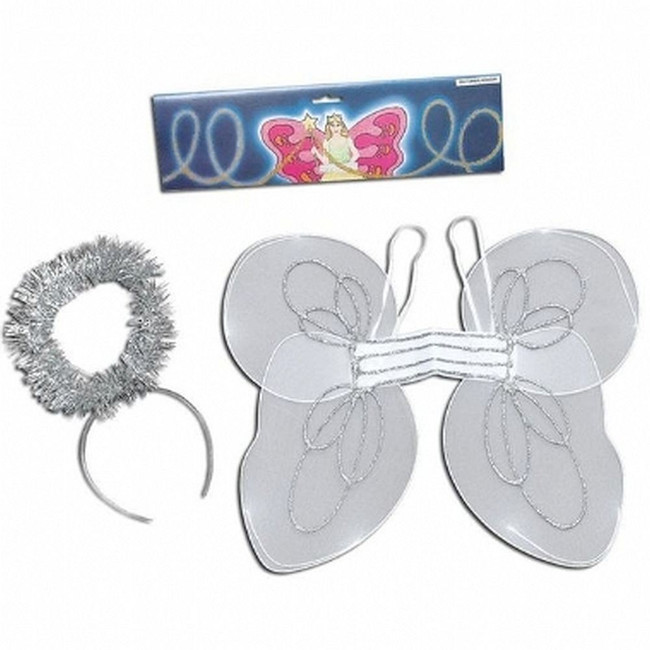 Angel Kit. Wings & Halo, One Size, Childs
