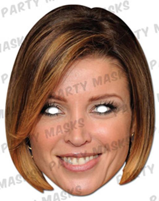 Dannii Minogue Celebrity Face Card Mask
