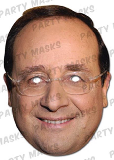 Francois Hallande Celebrity Face Card Mask