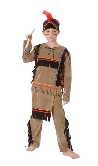 Indian Boy (Deluxe), Medium.