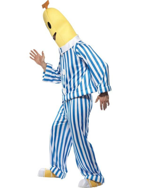 "Bananas in Pyjamas Costume.  Chest 38""-40"", Leg Inseam 32.75"""