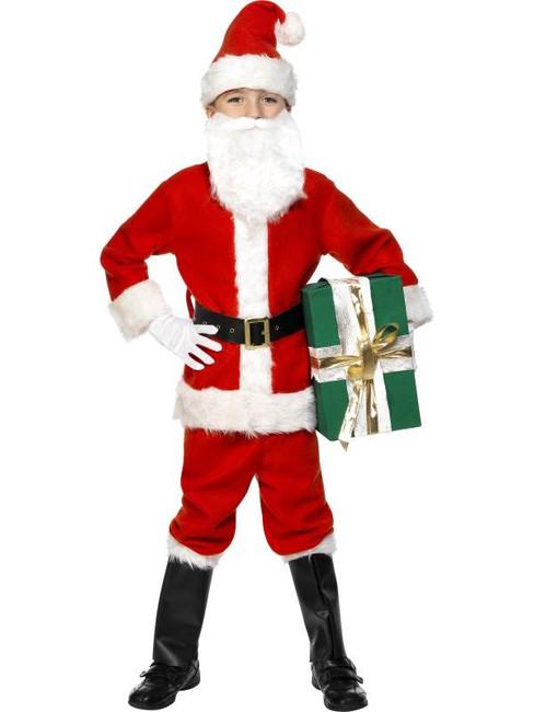 Santa Costume, Child, Medium Age 7-9
