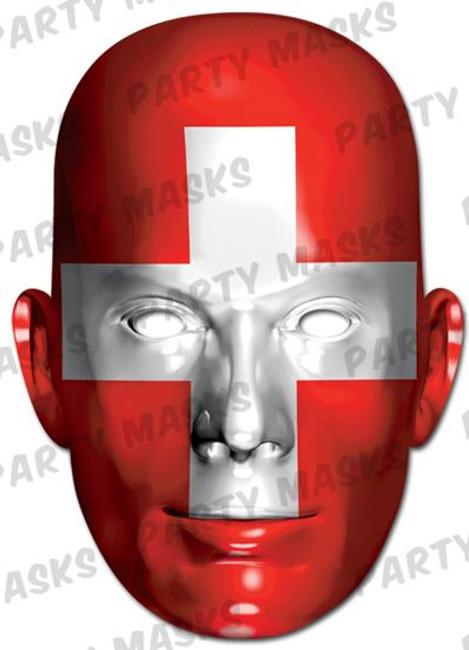 Switzerland Flag Card Mask