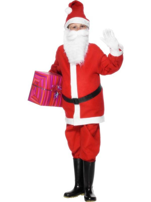 Santa Boy Costume, Small Age 3-5