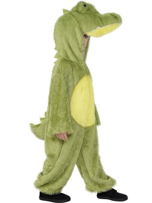Crocodile Costume, Medium.  Medium Age 7-9