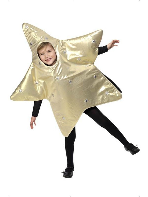 Christmas Star Costume.  Small Age 4-6