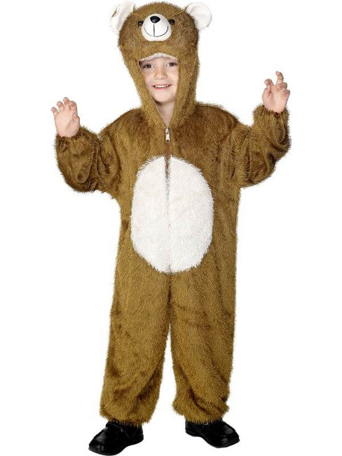 Bear Costume, Medium.  Medium Age 7-9