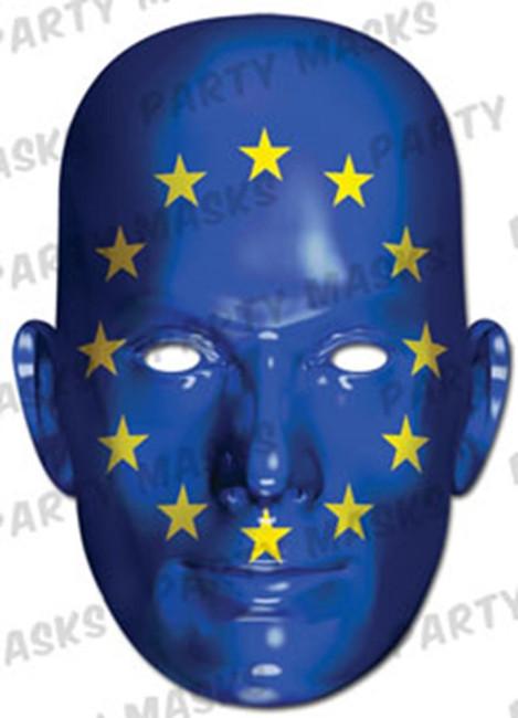 European Union Flag Card Mask