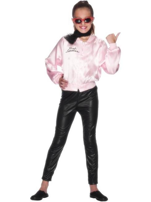 Pink Lady Jacket, Medium Age 6-8