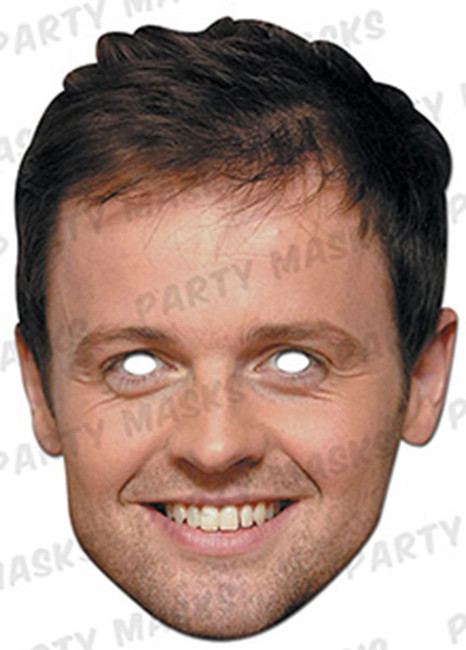 Declan Donnelly Celebrity Face Card Mask