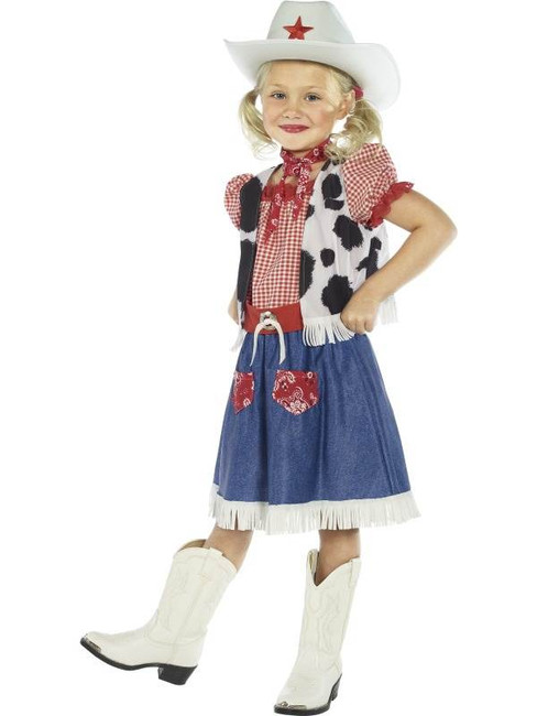 Cowgirl Sweetie Costume, Small Age 4-6