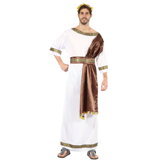 Greek God with Brown Sash
