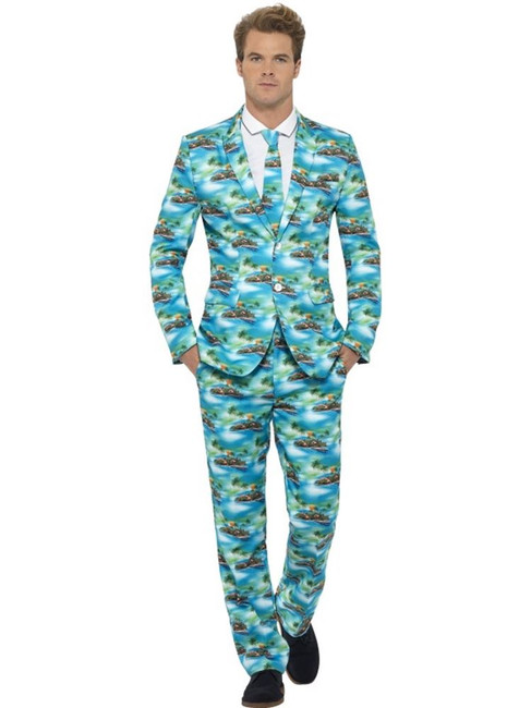 Aloha! Suit, Large, Adult Costumes Stand Out Suits Fancy Dress