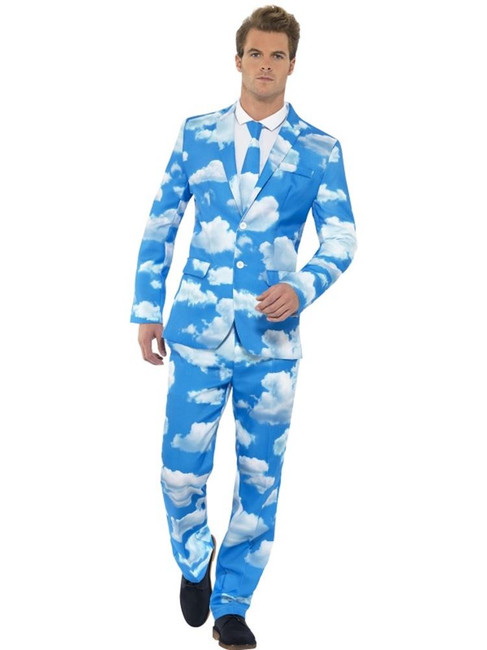 Sky High Suit, XL, Adult Costumes Stand Out Suits Fancy Dress