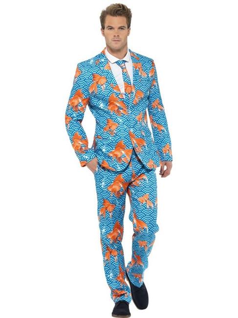 Goldfish Suit, Large, Adult Costumes Stand Out Suits Fancy Dress