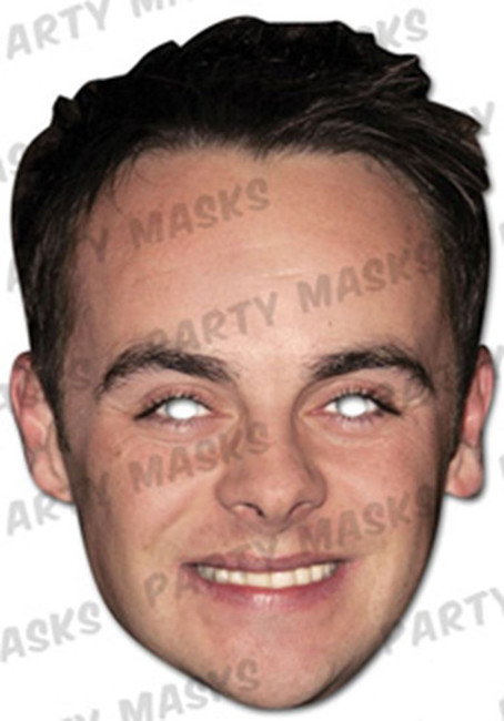 Ant McPartlin Celebrity Face Card Mask