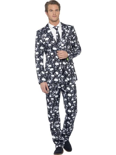 """Skeleton Suit, Chest 38""""-40"""", Leg Inseam 32.75"""""""