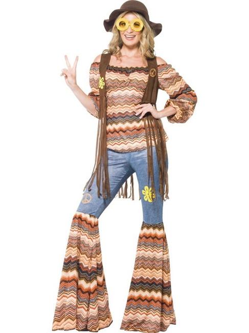 Harmony Hippie Costume, UK 8-10