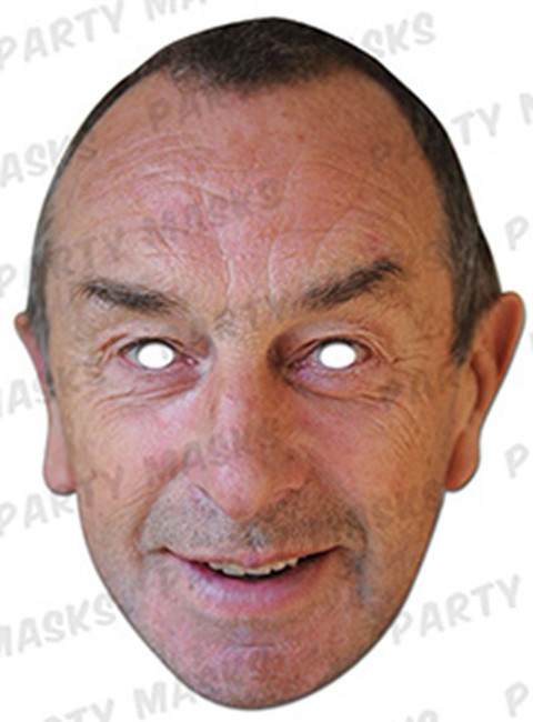 David Lloyd Bumble Celebrity Face Card Mask