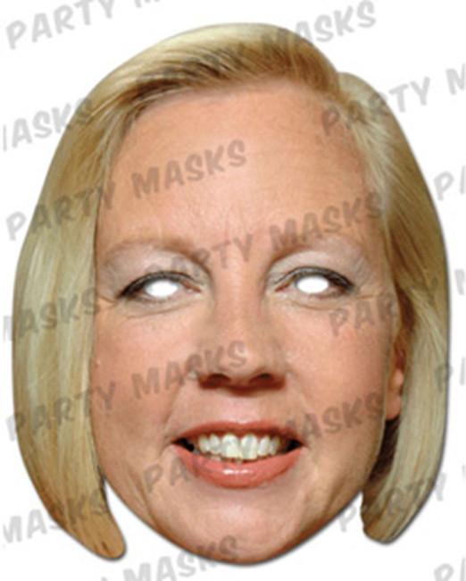 Deborah Meaden Celebrity Face Card Mask