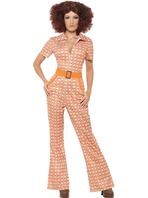 Authentic 70's Chic Costume, UK 12-14
