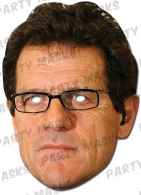 Fabio Capello Celebrity Face Card Mask