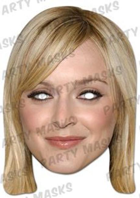 Fearne Cotton Celebrity Face Card Mask
