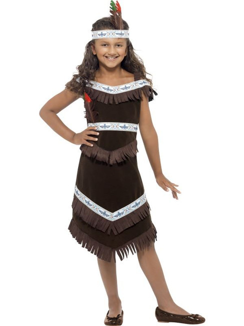 Indian Girl Costume, Small